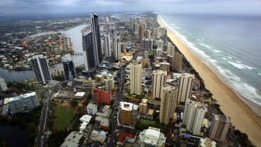 Gold Coast real estate agent John Newlands said he had been inundated with calls from southern investors in the past few months looking to buy north of the Tweed.