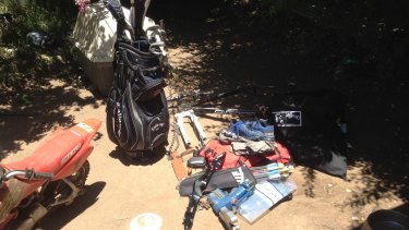 Two men will face court on Saturday morning in relation to items seized in Griffith.