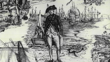 Governor Arthur Phillip skilfully commanded 11 second-rate ships on a perilous 252-day voyage.