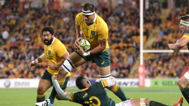French target: Wallabies player Rory Arnold is in the sights of a host of French teams.