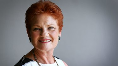 No problem with Putin: One Nation leader Pauline Hanson.