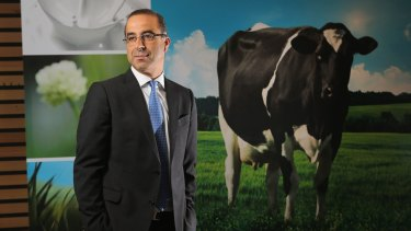 Under pressure? Murray Goulburn managing director Gary Helou.