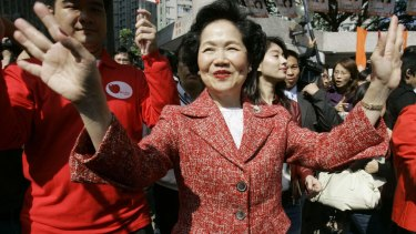 """The """"Iron Lady"""" of Hong Kong: Anson Chan, in 2007."""