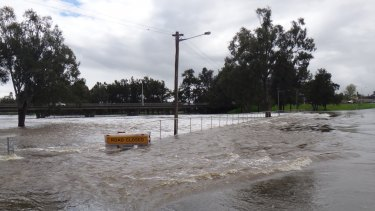 SES acting deputy commissioner Mark Morrow said the flooding passed August 1990 levels, when 132 properties were inundated.