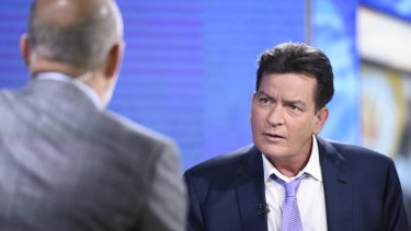 HIV positive: Charlie Sheen gave a candid interview with Today host Matt Lauer.