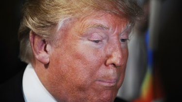 Republican presidential candidate and businessman Donald Trump.