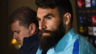 Privilege: Mile Jedinak is happy to turn his focus to the Socceroos.