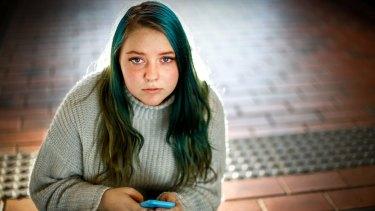 Jess Treloar-Walker, a victim of a shadowy network of Facebook groups that traffic revenge-porn.