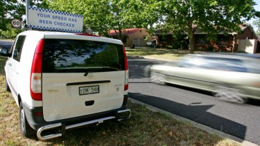 Canberrans can now nominate spots for mobile speed cameras to hang out.