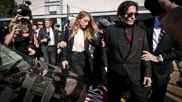 Last May, Amber Heard was on the Gold Coast with her ex-husband Johnny Depp for a court hearing.