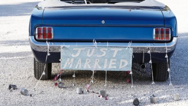Just married: to yourself.