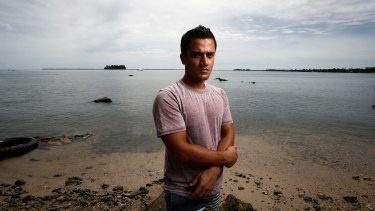 Rohingyan refugee Imran Mohammad Fazal Hoque, one of hundreds of men on Manus Island.
