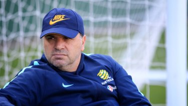 Looking at changes: Socceroos boss Ange Postecoglou.