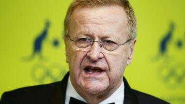 John Coates, who apologised last week.