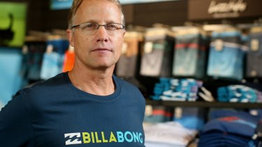 Billabong CEO Neil Fiske warned in November that trading conditions had deteriorated.