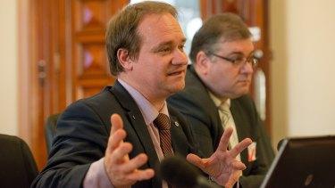 Mark Zirnsak, left, described some of the changes as bizarre.
