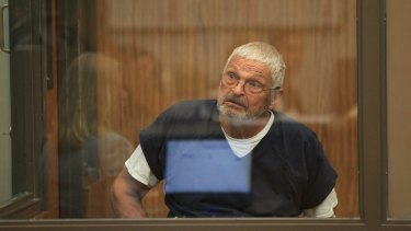Nick Philippoussis, pictured at the San Diego court on July 28, 2017.