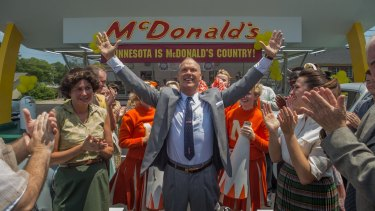 Michael Keaton stars as Ray Kroc, the man who took the McDonald's concept to the world, in The Founder.