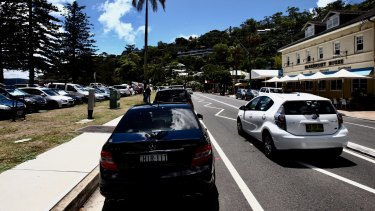Michael Regan, the mayor of Northern Beaches Council, said there was a high demand for parking in Palm Beach, particularly on weekends and in holiday periods.