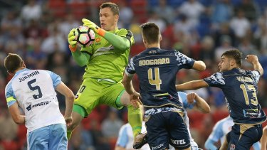 Last survivor? Danny Vukovic is well placed to be the last NSL player in the A-League.