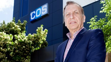 Dominique Lyone from COS says he is worried by a mega-merger of his competitors.
