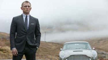 Daniel Craig in 2012's <i>Skyfall</i>.