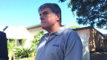 Moreton Bay mayor Allan Sutherland