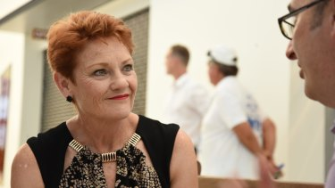 Let's not forget Senator Pauline Hanson – who had ''no assistance'' and ''no help from anyone'' as a mother.