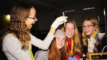 Year 8 students develop their passion for science at the Armidale School's Forensic Science Camp.