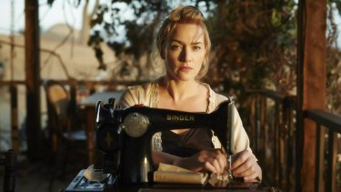 Tilly Dunnage (Kate Winslet) brandishes her Singer sewing machine like a lethal weapon in The Dressmaker. Producer Sue Maslin struggled to get funding for the box office smash without an A-list male
