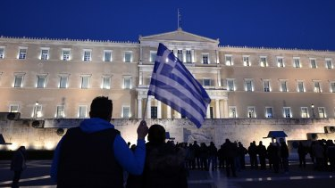 "An unnamed Greek official said the country has ""turned the page""."