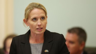 Education Minister Kate Jones.