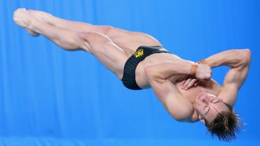 Twisting and turning: Matthew Mitcham has retired from diving.