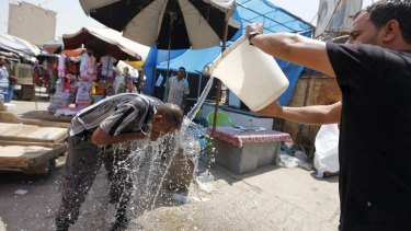 Extreme heat prompted Iraq to declare a four-day holiday.