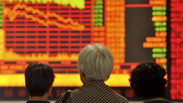 Investors should expect to lose money this year as the global economy slows.