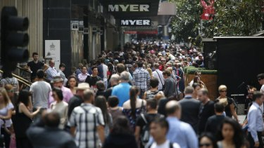 Melbourne grew by almost 100,000 people in the last year alone.