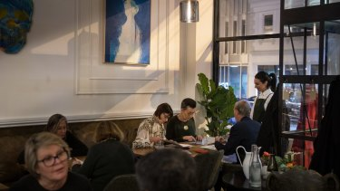 Omnia may just be a pop-up, but it looks, sounds and feels like a very real restaurant.