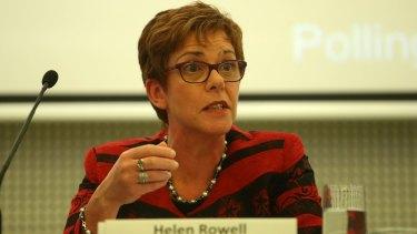 APRA deputy Helen Rowell at the earlier FSC Leaders Summit in Melbourne last week.