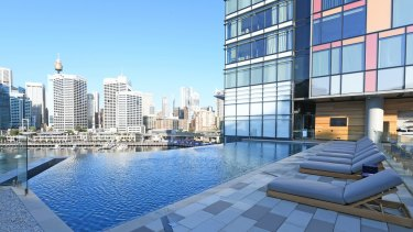 Accor's newest asset in Australia is the $500 million Sofitel Darling Harbour, which opened last week.