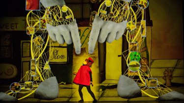 British company 1927's show <i>Golem</i> blends handmade animated feature film with live theatre.