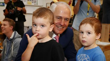 Prime Minister Malcolm Turnbull  visited the Crace Early Learning Centre in Canberra on Wednesday to announce the changes.