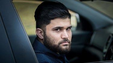 Ali al-Khalidi was the victim of road rage attack in Brunswick in June this year.