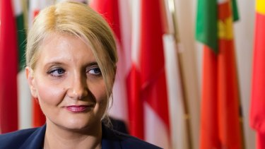Slovenian Interior Minister Vesna Gyorkos Znidar said that under EU rules Slovenia would not simply let migrants pass through, but would receive asylum claims.