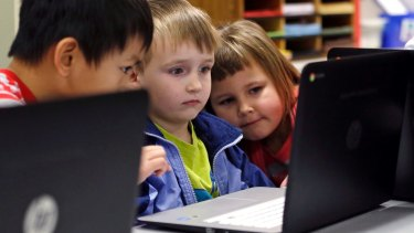 """BYOD policies potentially cause a """"digital divide"""" among school children, advocates warn."""