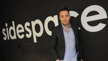 Sidespace founder Simon Hanlon.