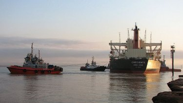 Tugboats are the latest area in which FMG will take on BHP.