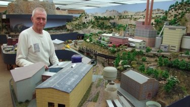 Retired air force transport pilot Bill Baggett has a model railway worth tens of thousands of dollars in a purpose-built shed on his farm in Dorrigo, northern NSW.