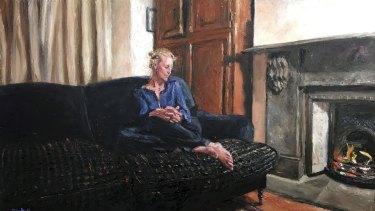 Nicolette Eisdell's portrait of actor Marta Dusseldorp.