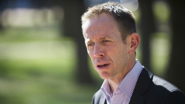 Greens MLA Shane Rattenbury proposed a direction to police that they not charge medicinal cannabis users.