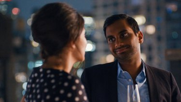 Accused of sexual misconduct: Comedian and actor Aziz Ansari.